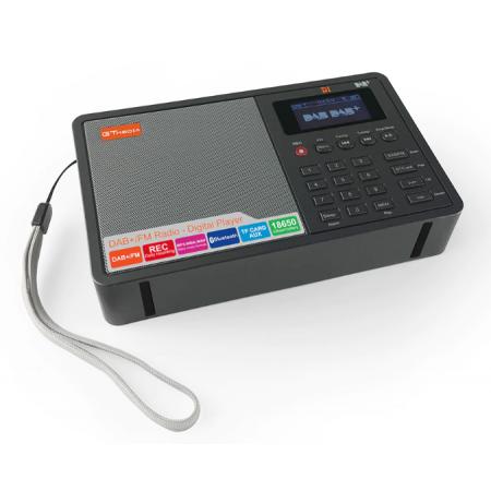 Radio DAB DAB+ RNT portative écran couleur Bluetooth 4.0 GTMEDIA D1 rf-market