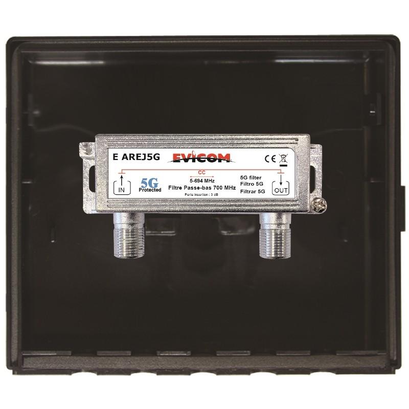 FILTRE PASSE BAS 700 MHz (LTE-5G) VERSION EXTERIEURE Evicom E REJ 5G