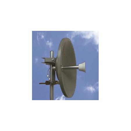 Antenne QO-100 2,4 GHz, 24 dBi rf-market vue installée