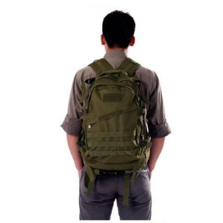 sac militaire 55l porté