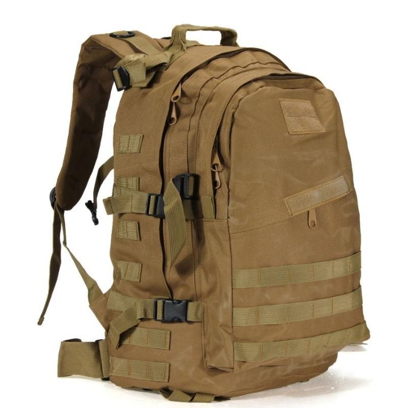 sac militaire 55l marron désert
