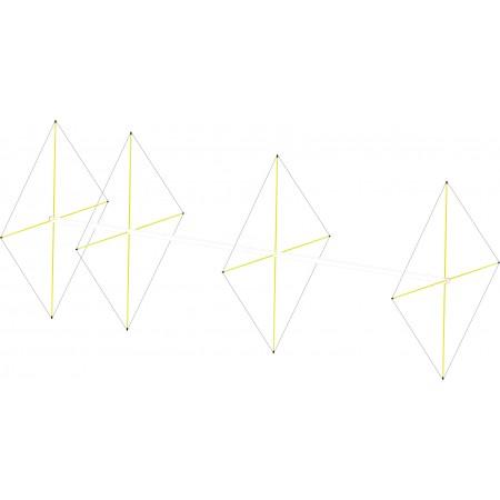 Antenne quad 4 elements 50mhz