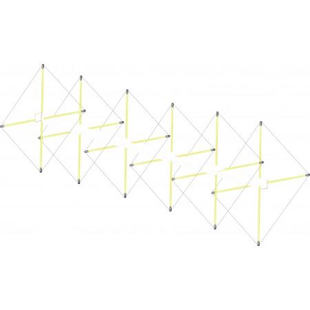Antenne cubical quad 6 éléments 144 mhz