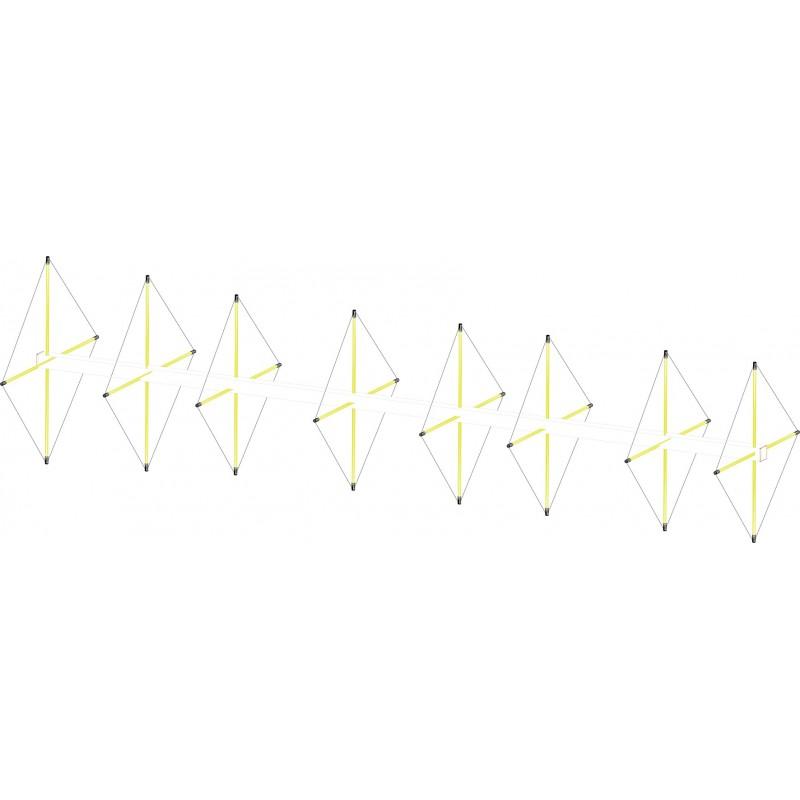 Antenne cubical quad 8 éléments 144 mhz renforcée