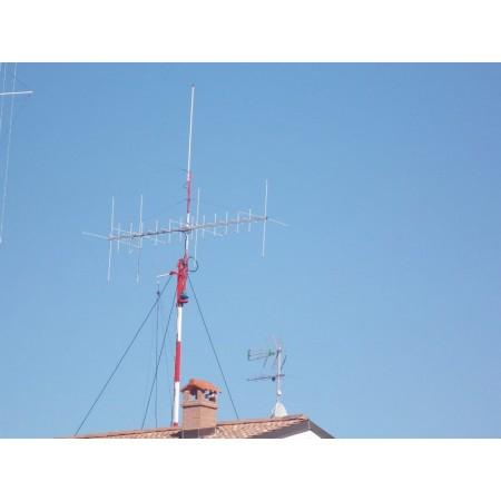 Antenne cubical quad 4 éléments 6m / 12 élements 2m
