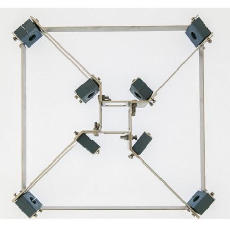 fixation elements antenne 5 bandes quad