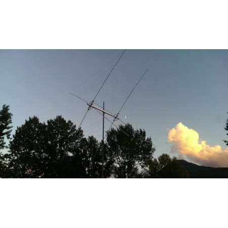 antenne cubical quad HF 5 bandes