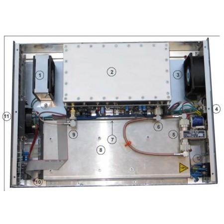 vue interieur Amplificateur VHF 144 MHZ 1KW ATLAS 1000 ITALAB