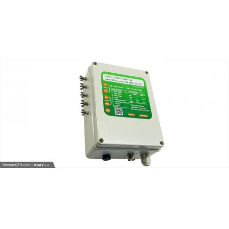 Antenne loop K9AY avec boiter de contrôle  complet