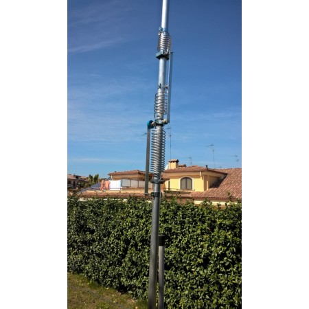 Antenne verticale HF 40-80-160m contest