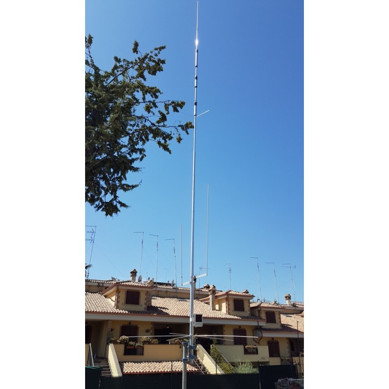 antenne verticale contest concours radioamateur 1kw