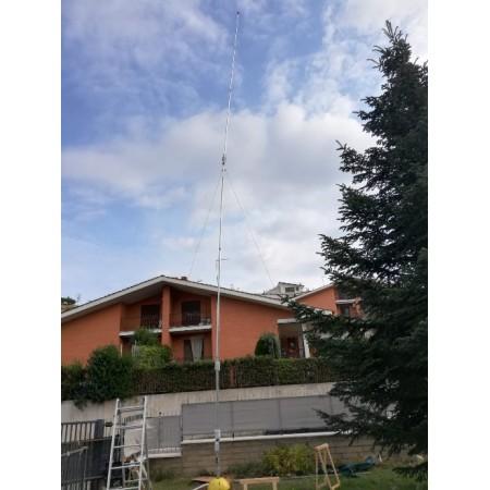 installation antenne l inversé 80m 160m