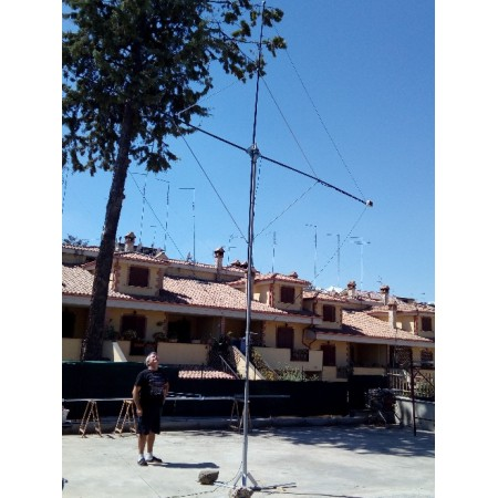 installation rx loop antenna HF SDR