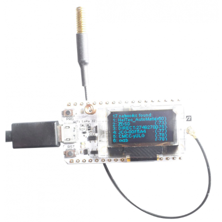 Tracker Lorawan 433mhz OLED Bluetooth WIFI
