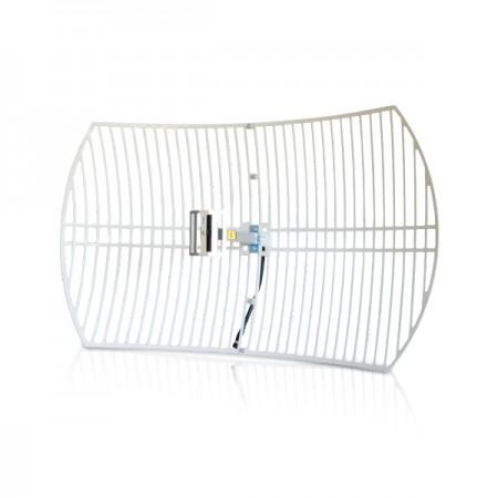 Antenne parabole grillagée 2.4 GHZ 100W 24 dbi