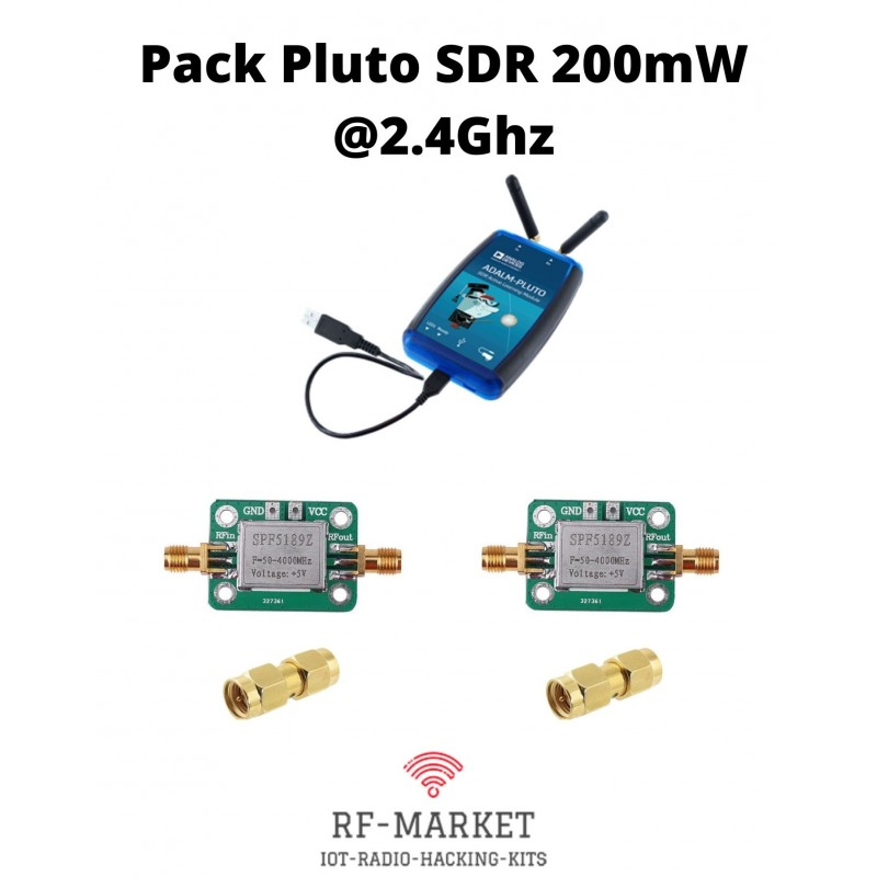 pack pluto sdr 200mw QO-100