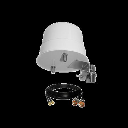 Pack modem 4G avec antenne spécial camping car bateau maison de campagne rf-market