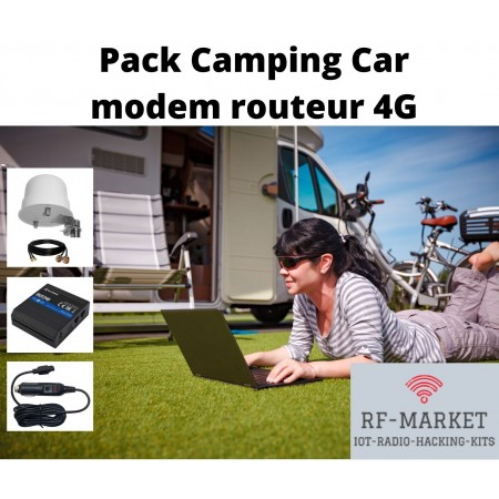 Pack Modem Routeur 4G Camping Car 12v