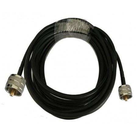 Câble coaxial RG-58 PL-259 10M