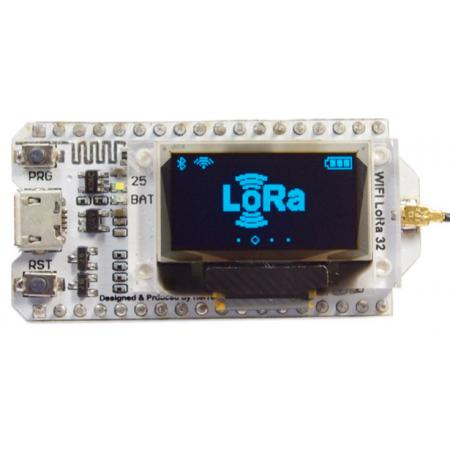 Tracker Lorawan 868mhz OLED Bluetooth WIFI