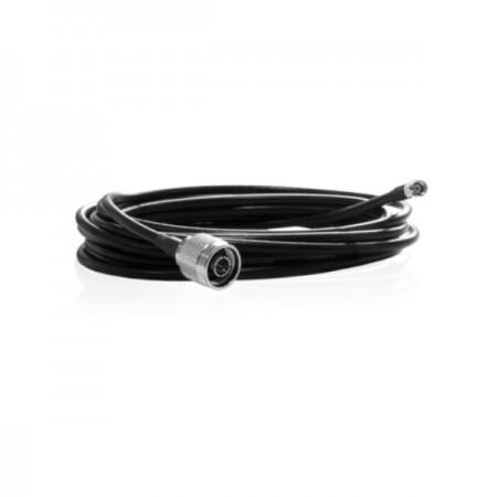 Câble coaxial HDF200 5m  prise N mâle vers prise RP-SMA