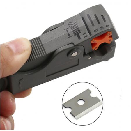 Pince à dénuder automatique câble coaxial rg58 rg213 rg174