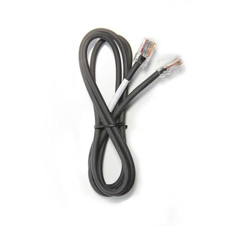 Câble microphone ICOM RJ45/RJ45 Komunica PWR-73I