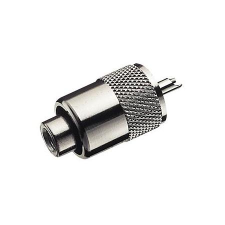 Connecteur PL-259 6 mm RG58