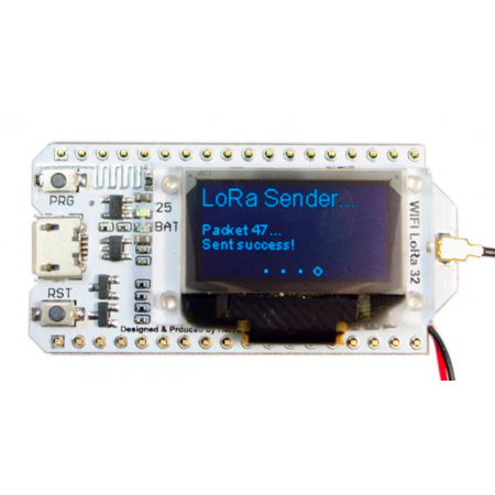 Tracker Lorawan 868mhz OLED Bluetooth WIFI
