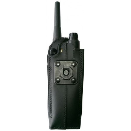 Housse cuir avec clip contact pro EADS TPH700
