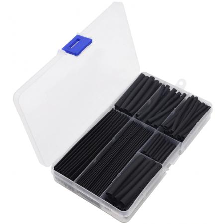 Boite de 150 pièces gaine thermorétractable cable coaxial rf-market