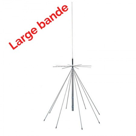 Antenne discone large bande 50/144/430/900/1200MHz PWR-D-130 Komunica
