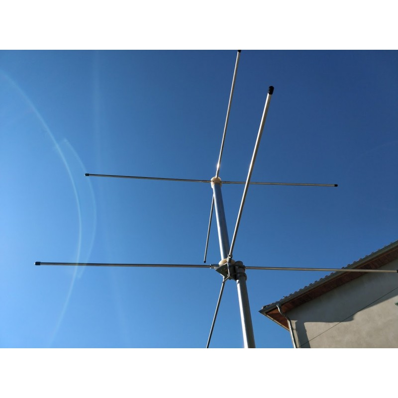 Antenne double turnstile 137 mhz