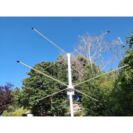 Antenne double turnstile 145 mhz
