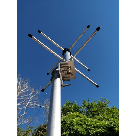 Antenne double turnstile 403 mhz