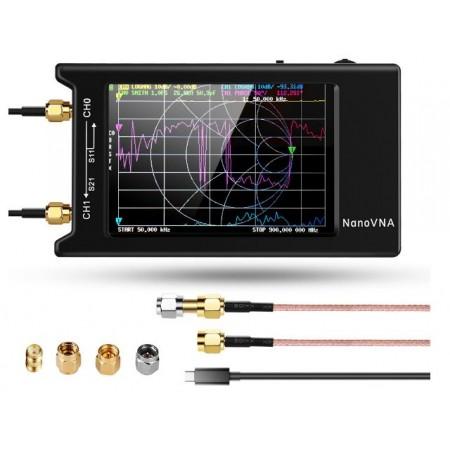 NanoVNA-H4 10 KHz-1500 MHz  version grand écran 4 pouces