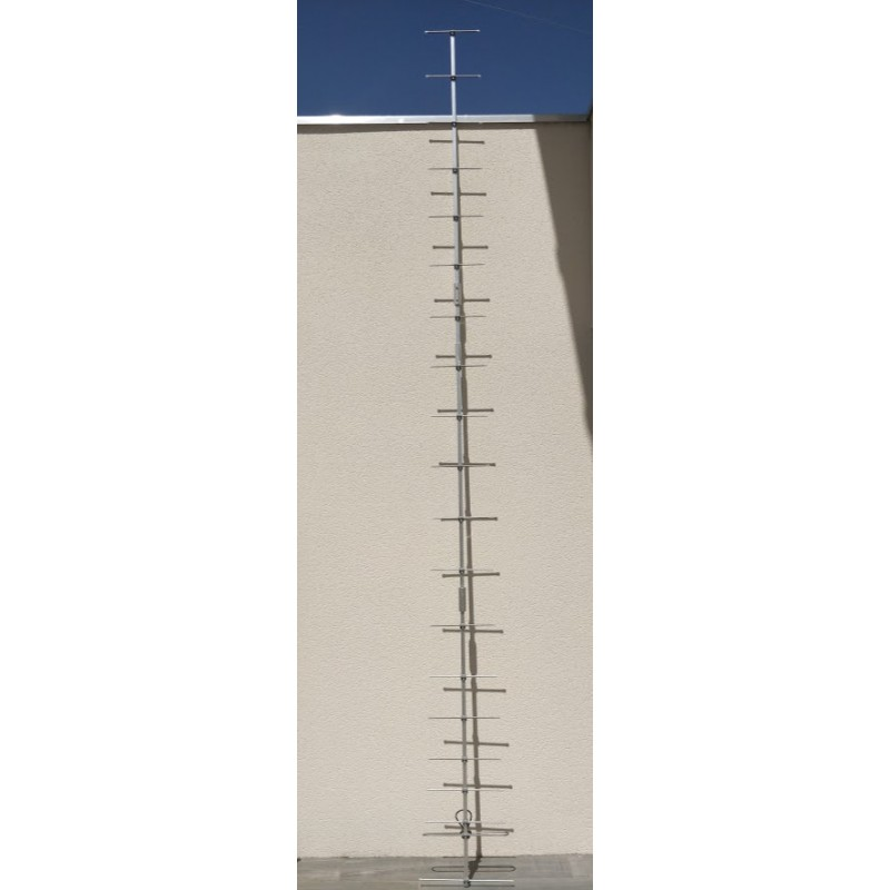 Antenne directive yagi PMR 446 mhz 20 éléments 16.5 dbd