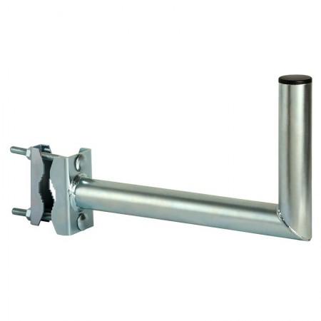 Support d'antenne pour installation sur balcon avec fixation horizontale