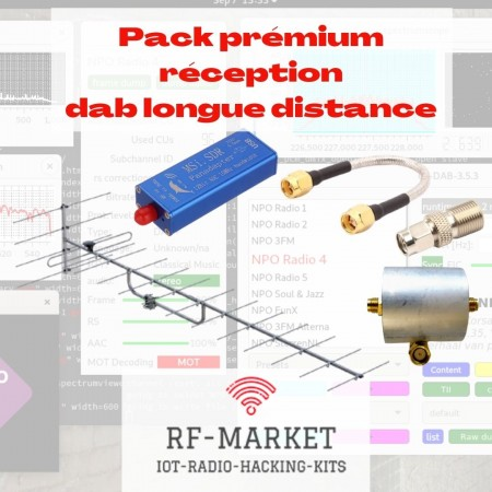 Pack réception Premium DAB longue distance