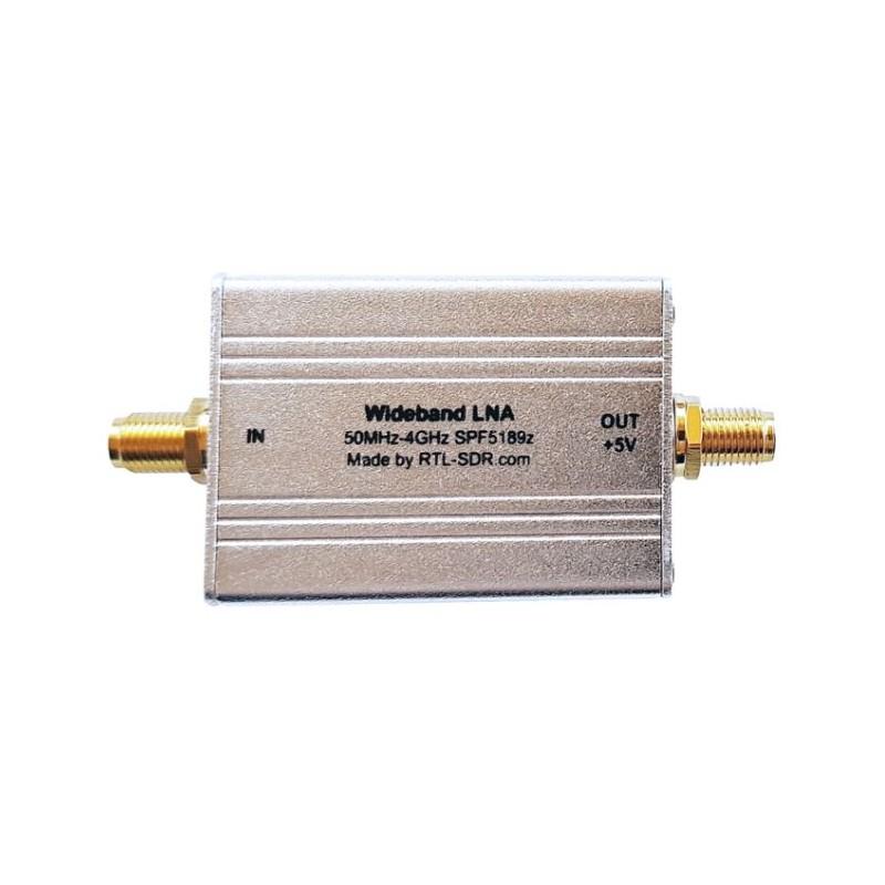 Préampli LNA avec boitier de 50 Mhz à 4 Ghz alimentation bias tee