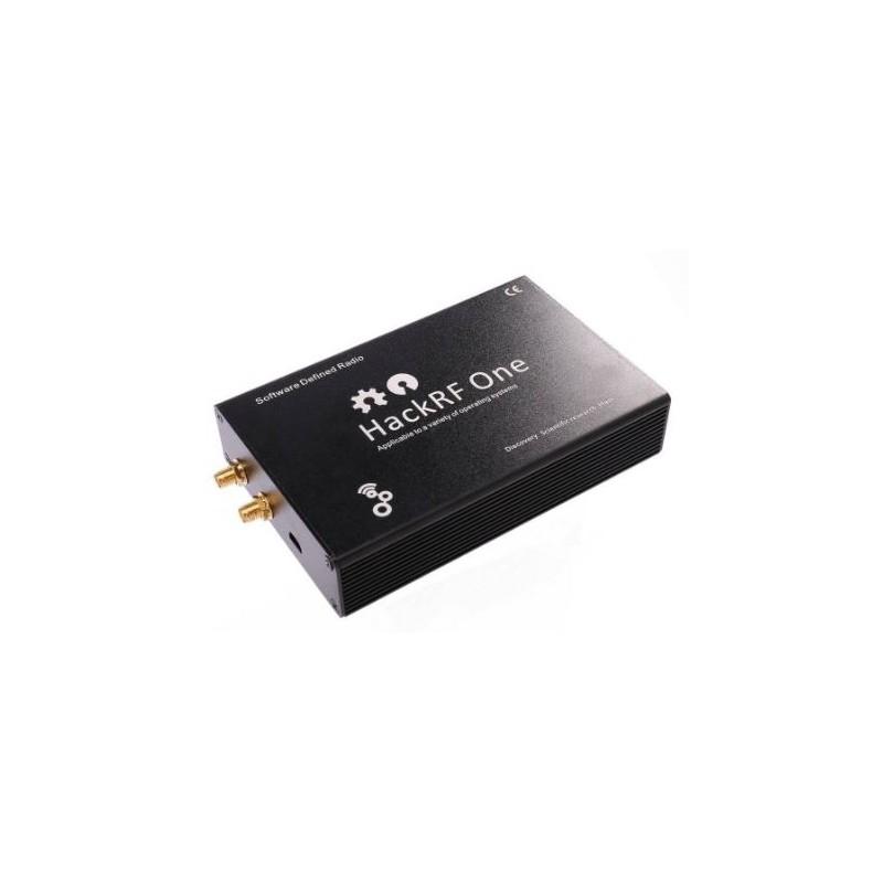 SDR HACKRF ONE de 1 Mhz à 6 Ghz avec tcxo , boitier et antennes