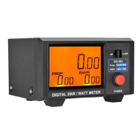 Tos mètre Watt mètre Nissei DG-503 HF-VHF-UHF digital 200W