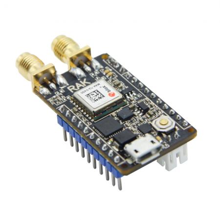 LoRaWAN Tracker  Wireless GPS Module capteur MEMS  RAK811 rf-market