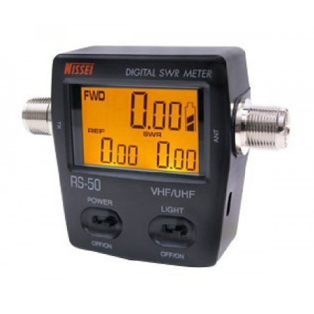Tos mètre Watt mètre Nissei RS-50 VHF-UHF 125 - 525Mhz digital 120W