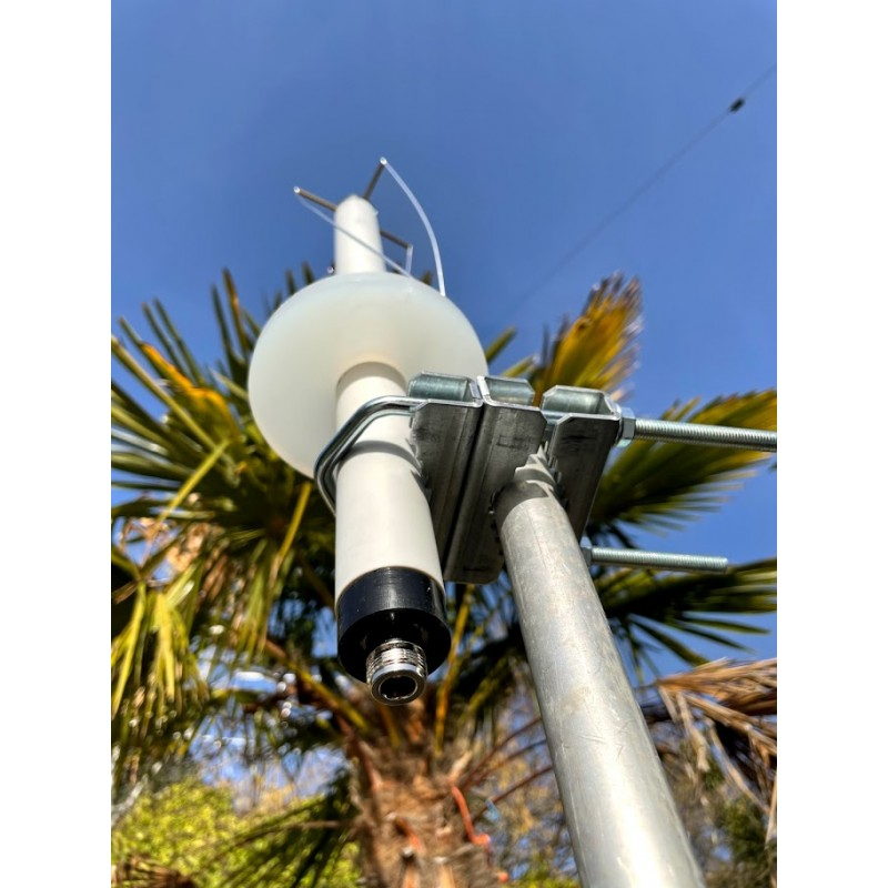 Antenne QFH quadrifilaire 435 mhz uhf satellite