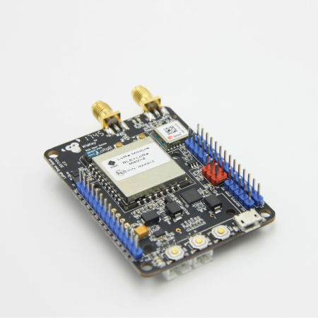 RAK815 Hybrid Location Tracker (RAK813 breakout board) with LoRa / LoRaWAN, Bluetooth 5.0 Beacon, GPS, Sensors and LCD rf-market