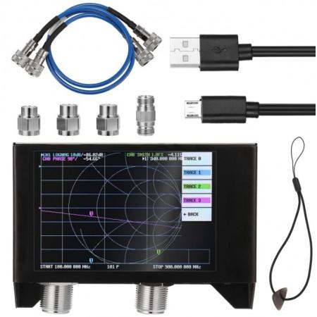 NanoVNA-H4 50 KHz-3000 MHz SAA-2N V2 Connecteurs N