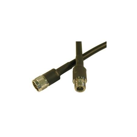 Câble antenne HDF 400 N-male/N-femelle 10m