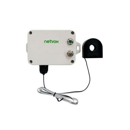 Capteur de courant une phase 30A Lorawan NETVOX R718N1 rf-market