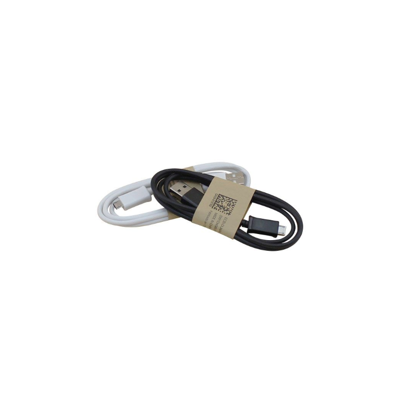 Câble micro USB 1M noir téléphone samsung nokia one plus arduino